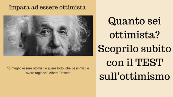 TEST sull'ottimismo)